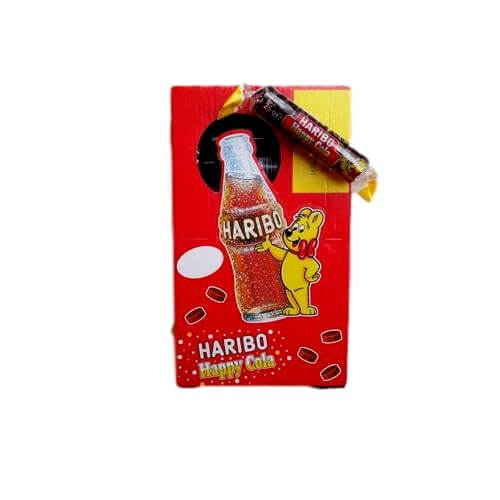 Haribo Roulette Happy Cola - Κουτί 50 τμχ