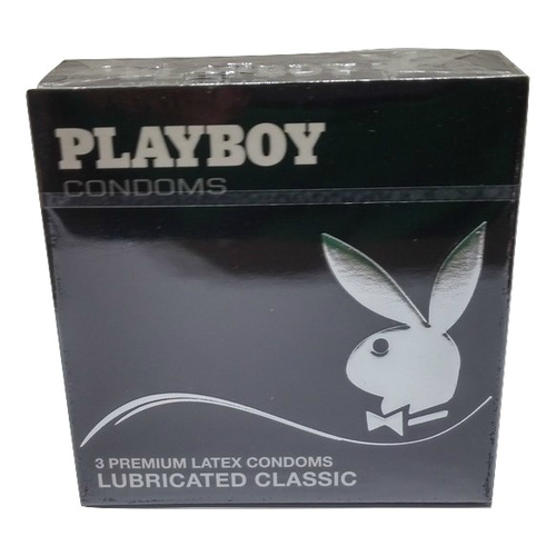 Προφυλακτικά Playboy Premium Latex Lubricated Classic 3τμχ
