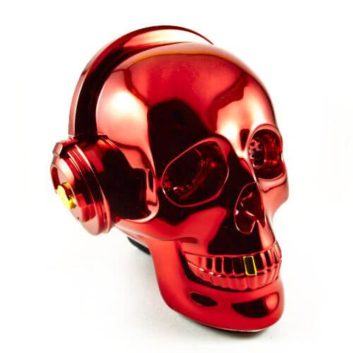 OneDer-v7-bluetooth-wireless-speaker-mobile-ηχείο-νεκροκεφαλή-skull-red-κόκκινο-cover